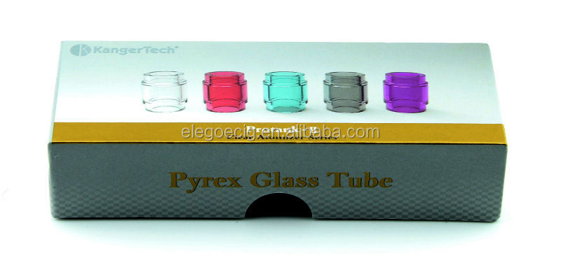 Elego colorful Kanger protank 2 3 replaceable pyrex glass tube In stock wholesele