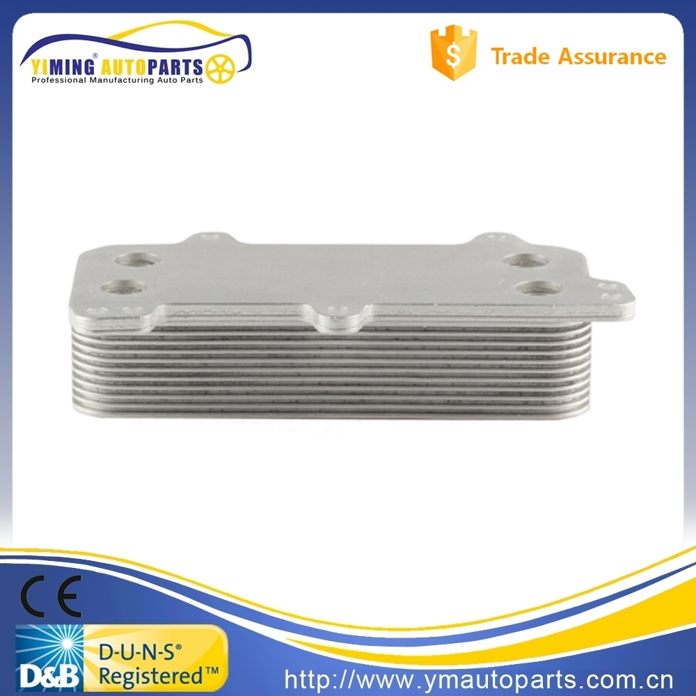 for VW Multivan T5 Touareg Transporter Caravelle 03-10 Automatic Hydraulic Tractor Oil Cooler 046017N Engine Oil Cooler