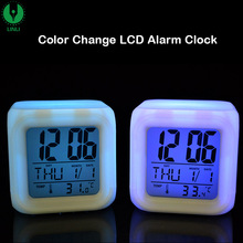 New Small Digital Prayer Time Clock With Logo, Night Light Led Desk Alarm Clock Made In Shenzhen