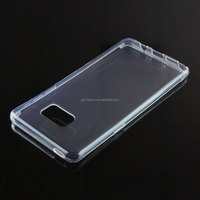 Plastic Material High Clear Slim Note 7 Bumper Case