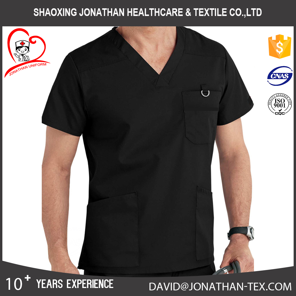 good quality cherokee workwear multifunction men medical scrub top