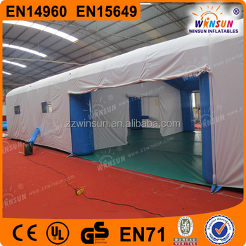 Customed cheap popular design romantic inflatable garden tent