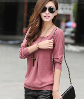 Hot design woman tops ladies Korean long sleeve blouse spring/autumn fashion shirt