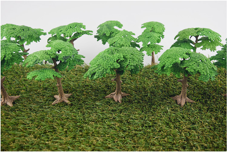 Mini Simulation Tree For Baby Kids Early Education toys Ecological Landscaping Props Fake Tree