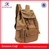 high quality fashion canvas backpack cotton canvas backpacks