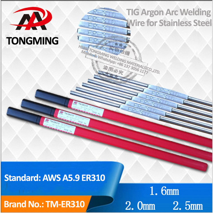 AWS ER310, Stainless Steel Argon Arc Welding Wire (TIG), TM-ER310
