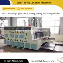 Factory price corrugated machine die cut card with a hole