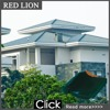 011-J14 concrete tegula eagle japanese roof tiles for sale