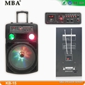 15 inch best rechargeable portable speaker hi power multimedia powerful bass rechargeable speaker