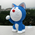 custom make cartoon charater kids money banks,custom vinyl doraemon character kids money bank