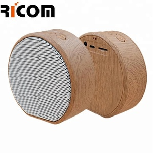 Usb blue tooth wooden speaker box with Fm Radio for smart phone