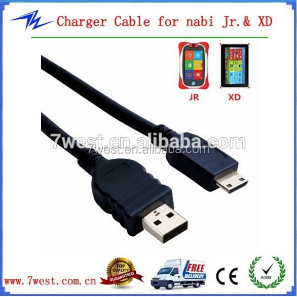 OEM 2M 6 Feet Long Data and Charging Cord for NABi Jr and NABi XD Tablets