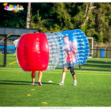 Guangzhou manufacturer inflatable cheap human bumper balls suit for team sport game