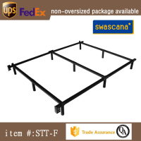 Chinese Manufacturer Price Ornamental Wrought Iron Bed Frame