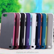 Double Colors Lattice Shell Edge Mobile Phone Case for iphone 5/5s Made in China