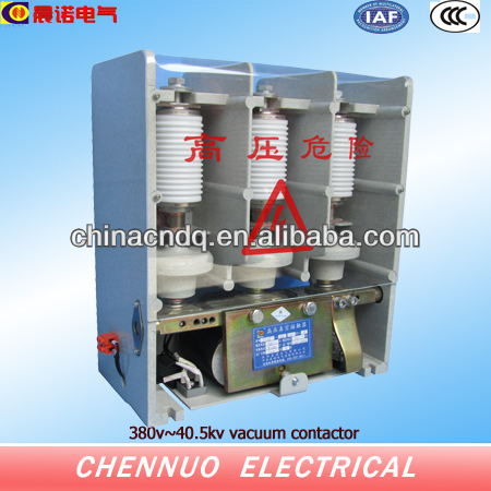 Insulation frame high quality vacuum tube 7.2 kv vacuum contactor and schneider contactor
