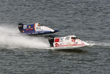 fiberglass power engine racing sprint F4 motorboats