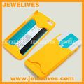 phone case with card holder For iPhone 5 Hard Case, ID Credit Cell Phone Case Card Holder