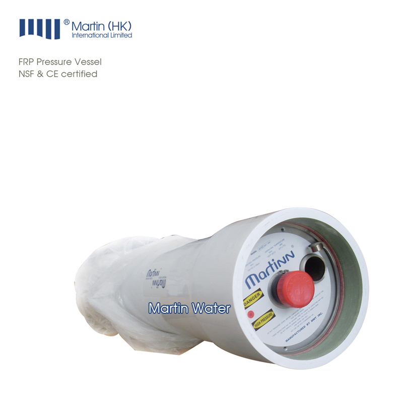 RO Water System FRP Pressure Vessel Reverse Osmosis Membrane Housing