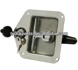recessed t handle tool box latch