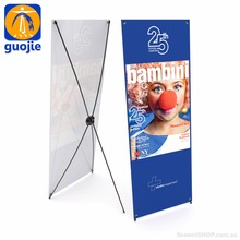 X banner stand, vertical banner stands, x type stand banner