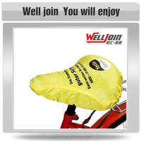 High Quality Custom Printed Logo Bike Seat Rain Cover