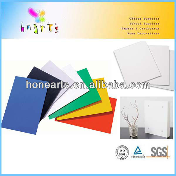high quality high density colorful plastic foam board/silkscreen colored foam board