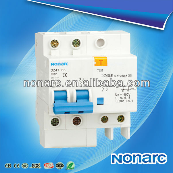 DZ47LE-63 Low Price Function Earth Leakage Circuit Breaker