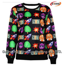 Custom 3D Sweatshirts Wholesale