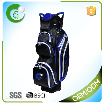 OEM Polyester PU Materials Unisex Custom Made Golf Bag