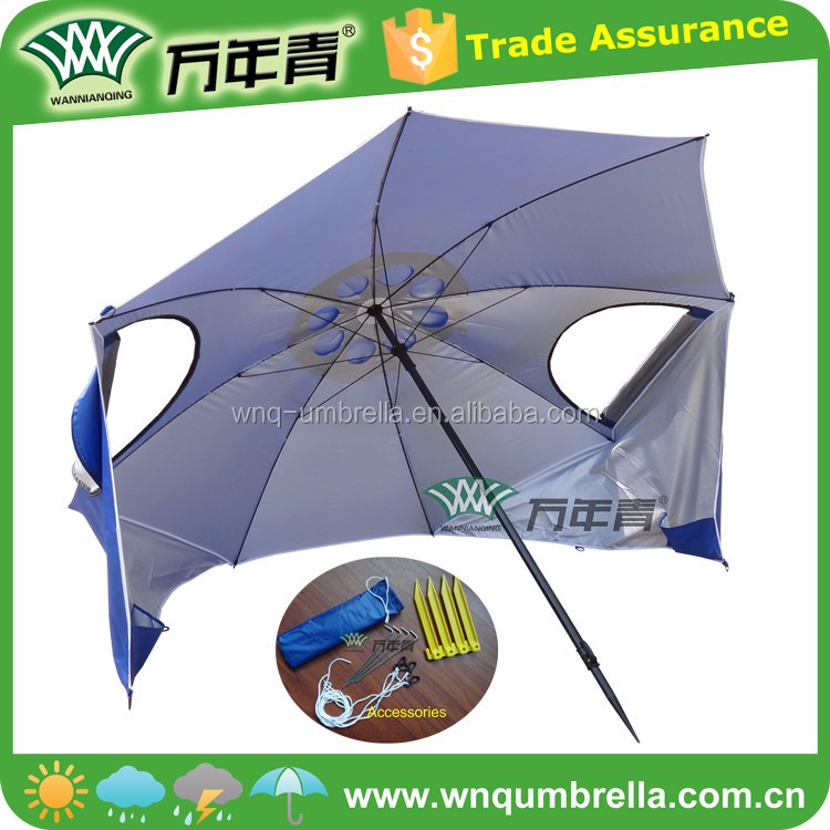 2M and 2.4M for choice With carry bag anti uv beach tent umbrella