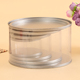 Small clear Wedding decorative cake plastic tin boxes for gifts