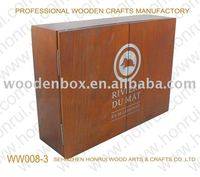 oak wooden wine packaging box