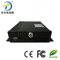 Best Buys 4 Channels SD Card Vehicle Mobile DVR H.264 Main Profile 2 Channel Alarming
