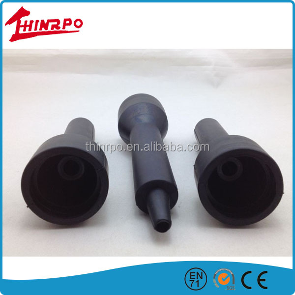 Injection molded EPDM rubber part silicon rubber inserts
