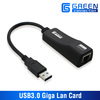 USB 3.0 to 10/100/1000 Gigabit Ethernet LAN Network Adapter