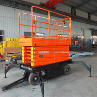 4-18m hydraulic movable scissor type man lifter