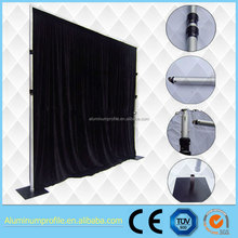 Wedding pipe and drape /backdrop and large banquet halls decor