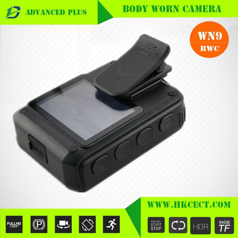 AVI Video format H.264 Format police video body worn camera with Night Vision and Motion Detection