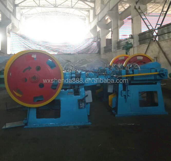 China High Speed Nails Making Machine Equipment Production Line