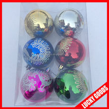 new design colorful hollow outdoor Christmas Decorative Ball wholesale
