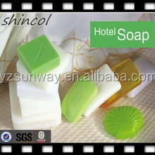 hot sell beauty vegetable oil solid bath one use hotel soap