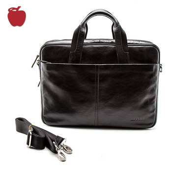 Quality Guaranteed Genuine Leather Man Custom Logo Laptop Bags