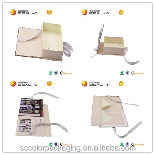 Sample 1 Piece Rigid Folding Paper Gift Box With Ribbon Closure ,Sexy Gift Bikini Packagings