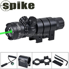 Shockproof 532nm Tactical Green Dot Laser Sight Rifle Gun Scope w/ Rail & Barrel Mount Cap Pressure Switch green laser sight