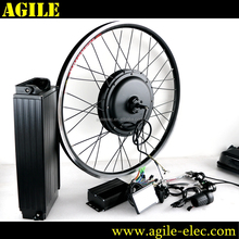 Agile China 48V 1500W Gearless Electric Bike DIY ebike Conversion Kits