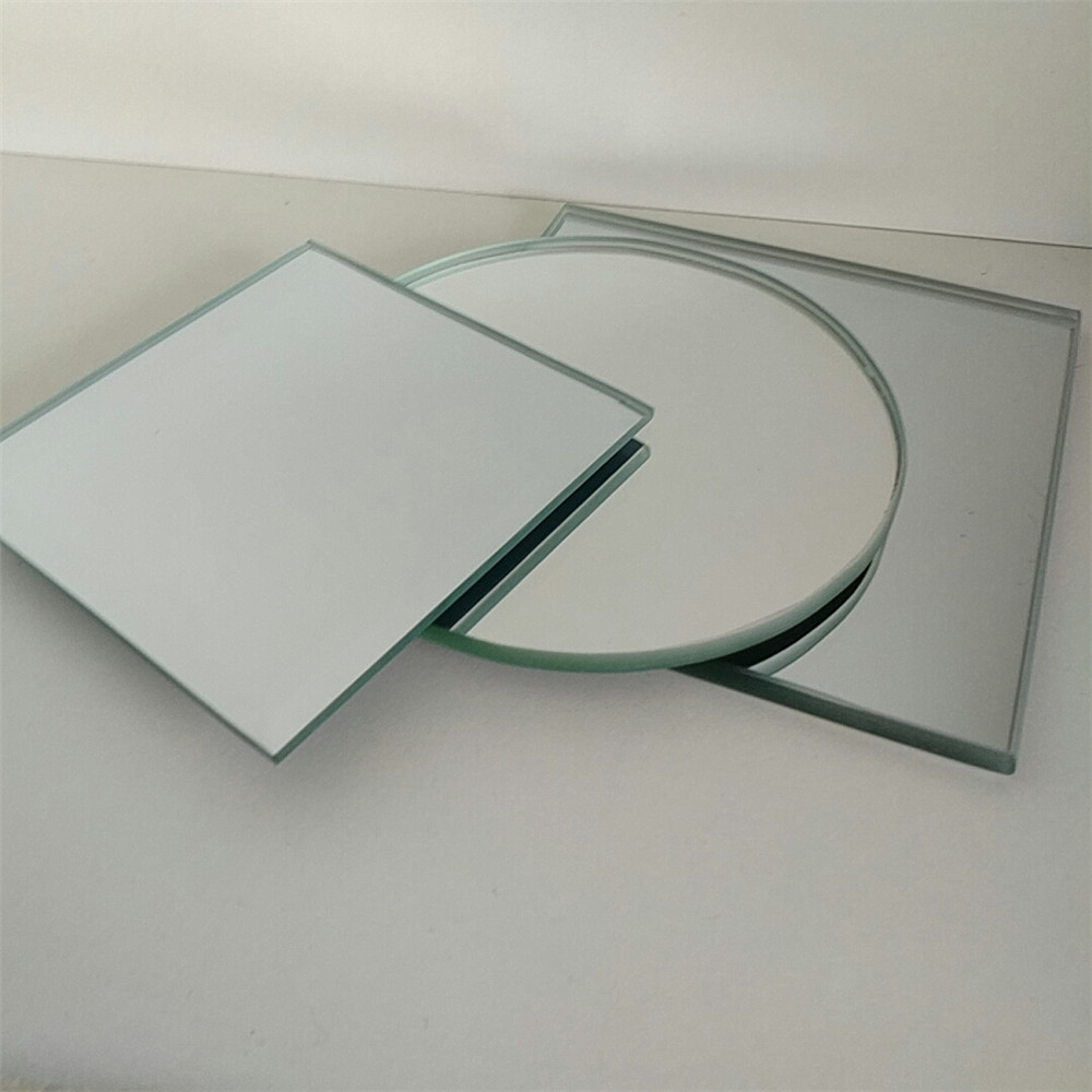 standing silver mirror with princess chrome plated