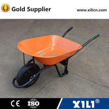 heavy duty steel construction wheel barrow wb7200-X