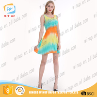 Hot fashion designer one piece party dress young girl short dress