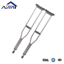 Adjustable aluminum armrest crutch alloy cane walking stick for sale